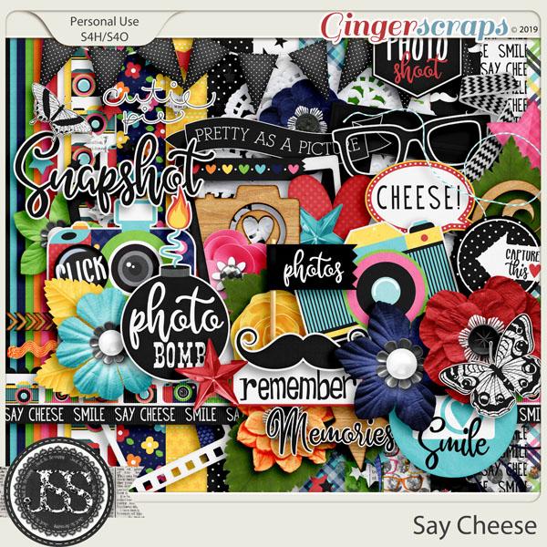 Say Cheese Digital Scrapbook Kit