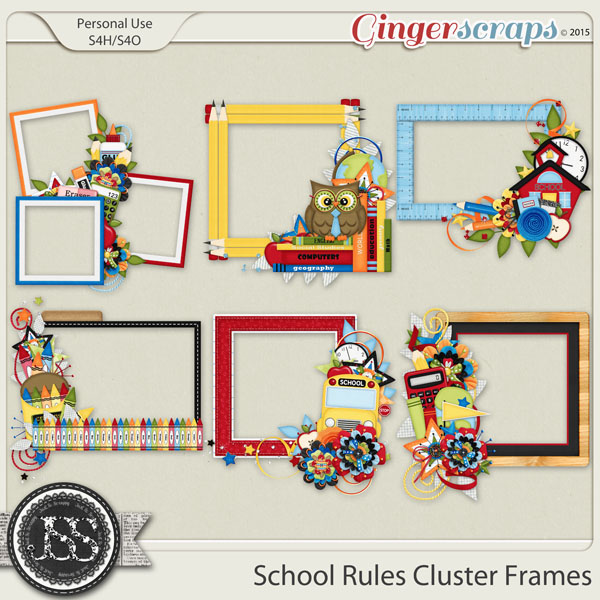 School Rules Cluster Frames