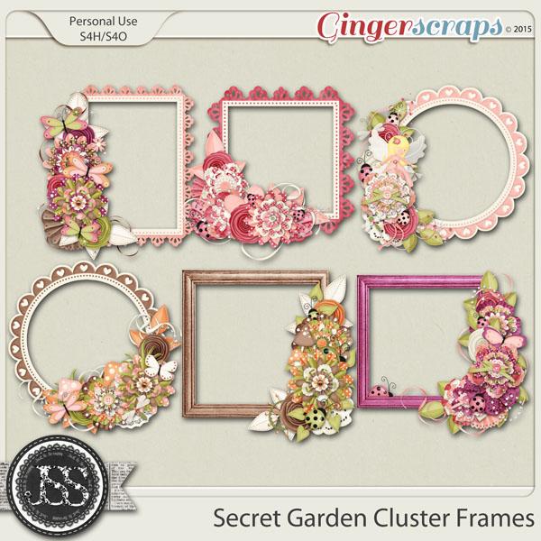 Secret Garden Cluster Frames
