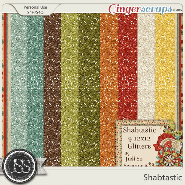 Shabtastic Glitter Sheets