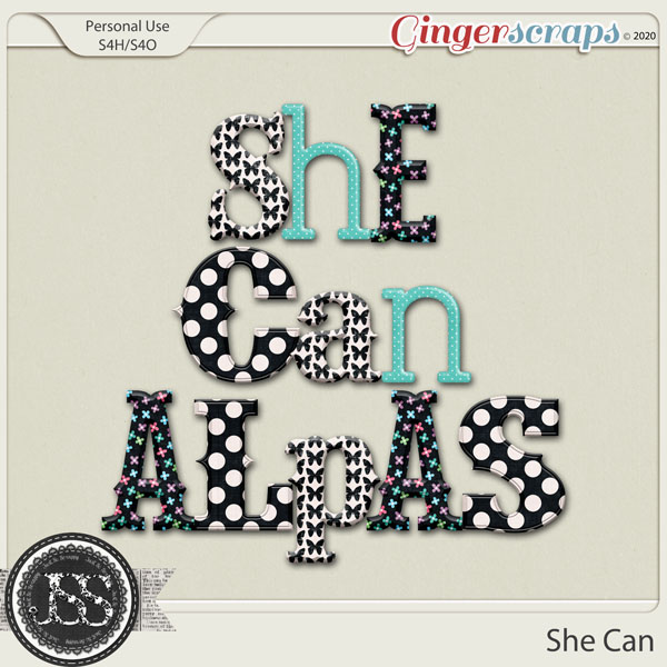 She Can Alphabets