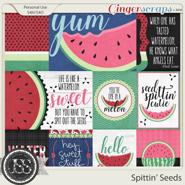 Spittin Seeds Pocket Scrap Cards