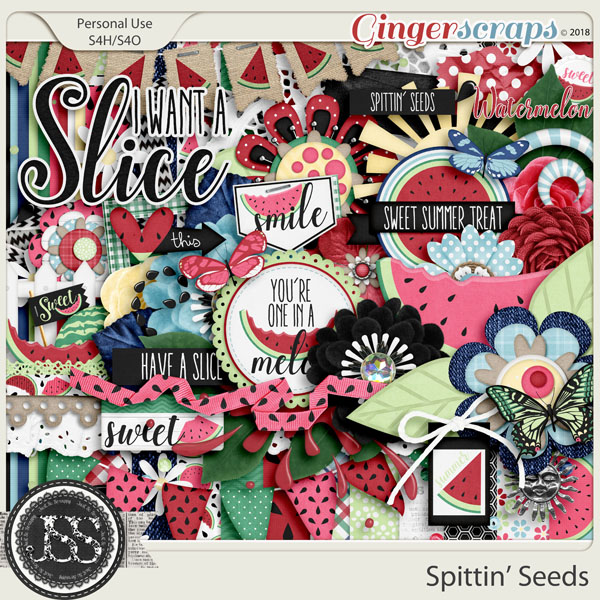 Spittin Seeds Digital Scrapbook Kit