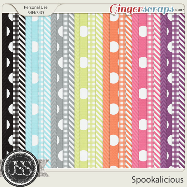 Spookalicious Pattern Papers