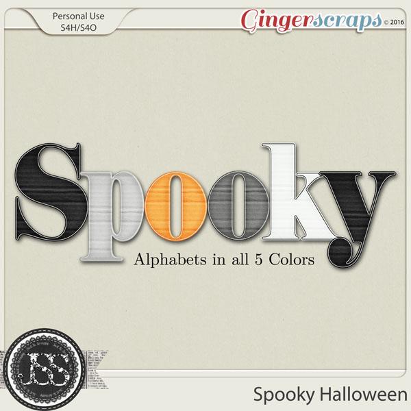 Spooky Halloween Alphabets