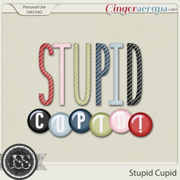 Stupid Cupid Alphabets