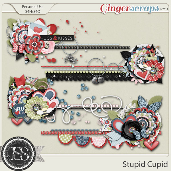 Stupid Cupid Cluster Stitches