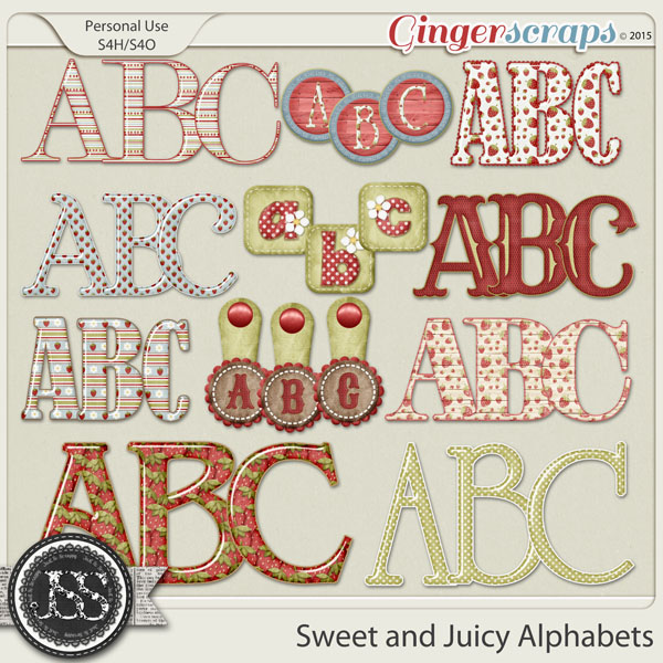 Sweet And Juicy Alphabets