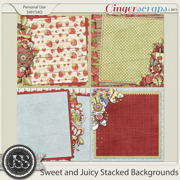 Sweet And Juicy Stacked Backgrounds