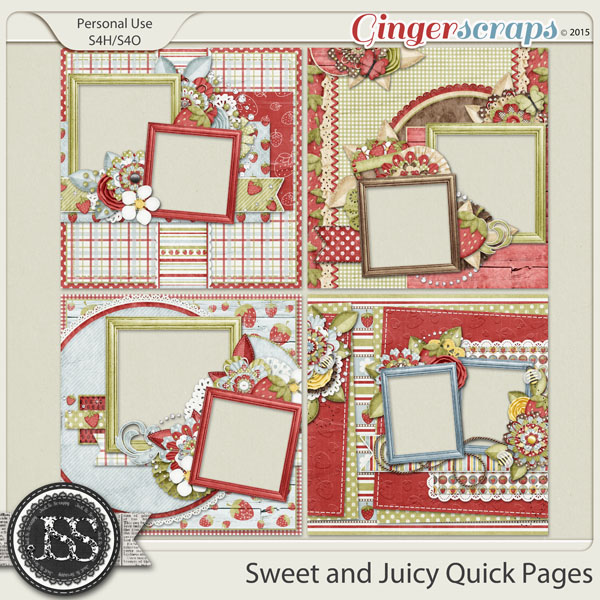 Sweet And Juicy Quick Pages