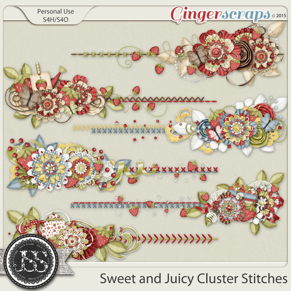 Sweet And Juicy Cluster Stitches