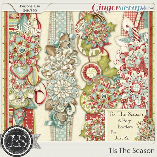 Tis The Season Page Borders