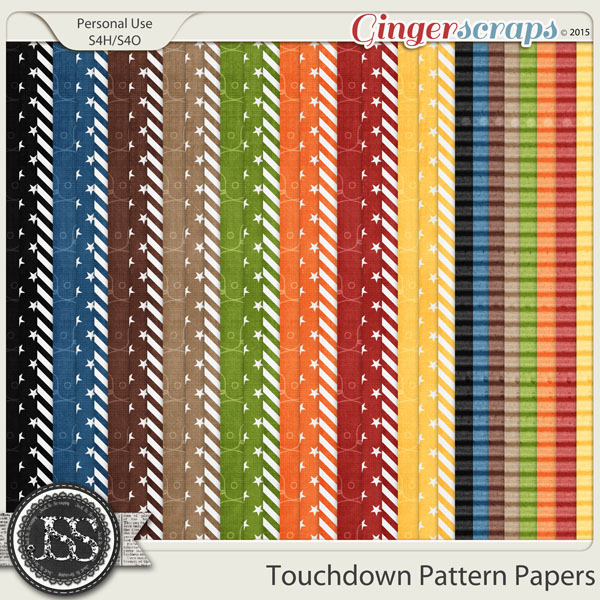 Touchdown Pattern Papers