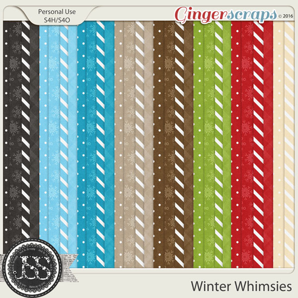 Winter Whimsies Pattern Papers