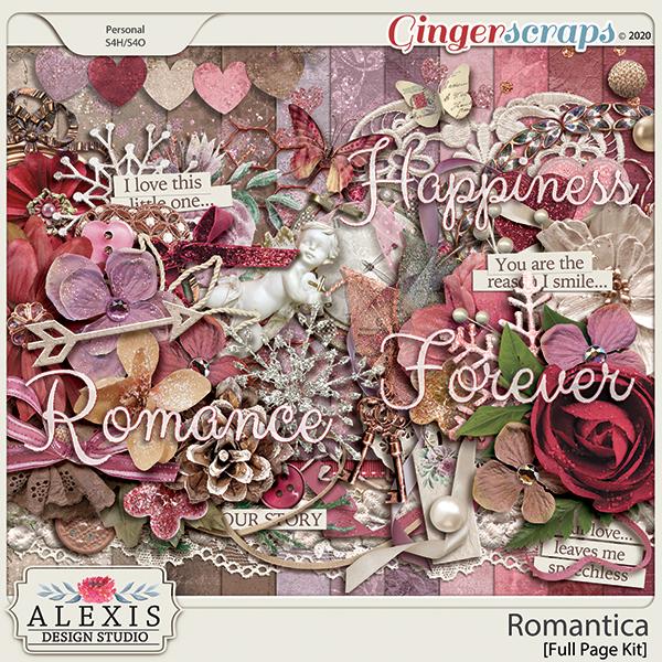 Romantica - Full Page Kit