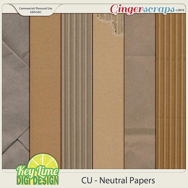 CU Neutral Papers