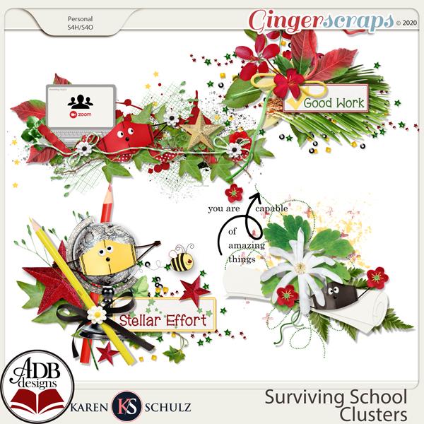 Surviving School Clusters by Karen Schulz and ADB Designs