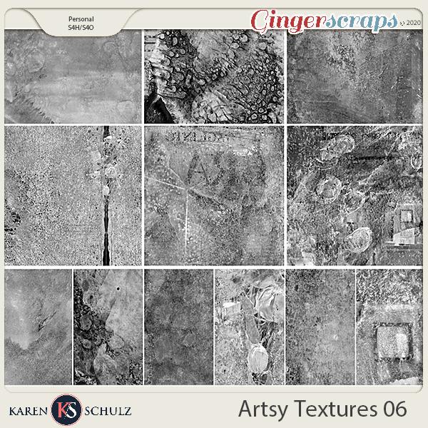Artsy Textures 06 by Karen Schulz