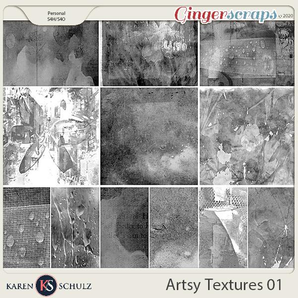 Artsy Textures 01 by Karen Schulz