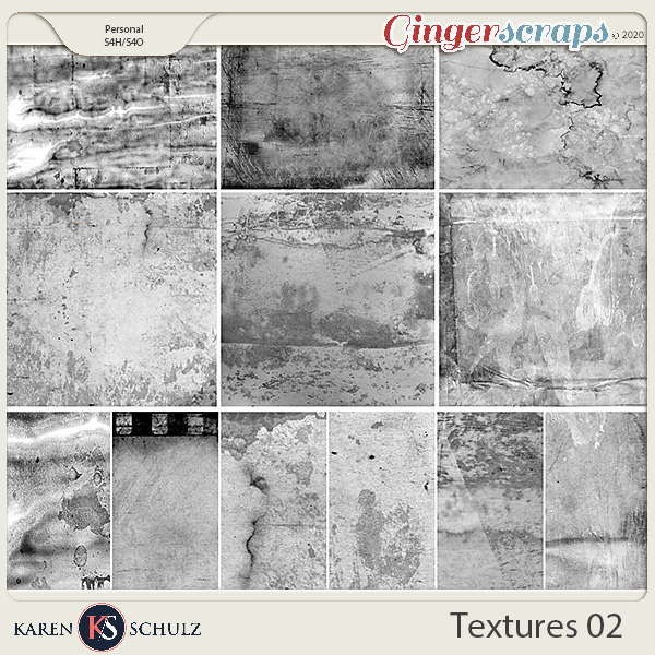 Artsy Textures 02 by Karen Schulz