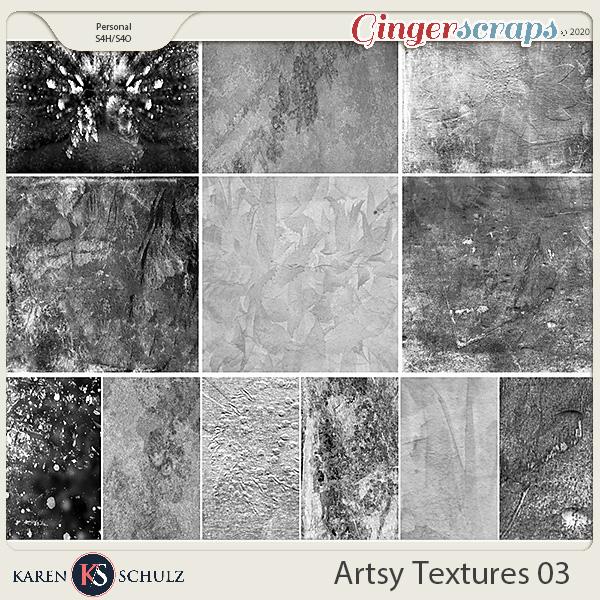 Artsy Textures 03 by Karen Schulz