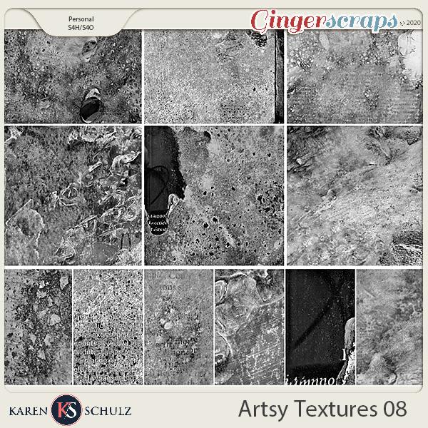 Artsy Textures 08 by Karen Schulz