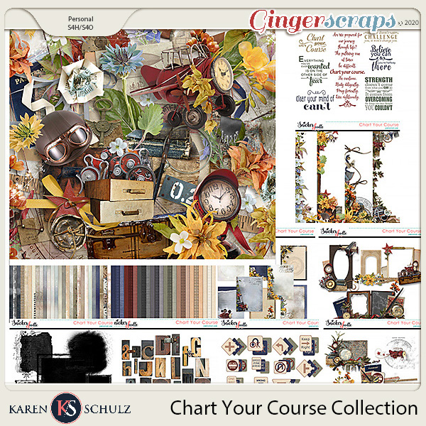 Chart Your Course Collection by Karen Schulz
