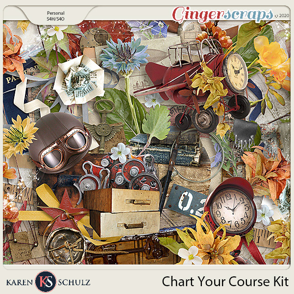 Chart Your Course Kit by Karen Schulz