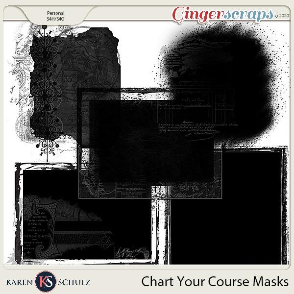 Chart Your Course Masks by Karen Schulz