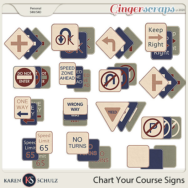 Chart Your Course Signs by Karen Schulz