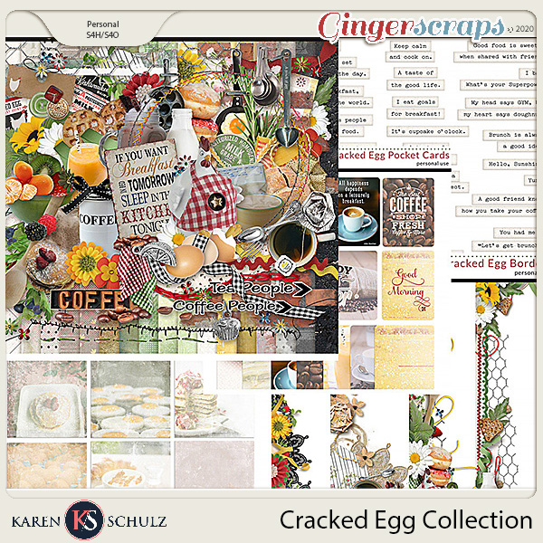 Cracked Egg Collection by Karen Schulz