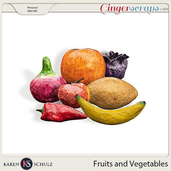 Fruits and Vegetables by Karen Schulz
