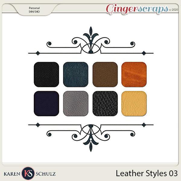 Leather Styles 03 by Karen Schulz