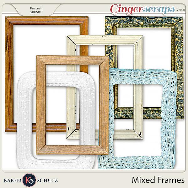 Mixed Frames by Karen Schulz