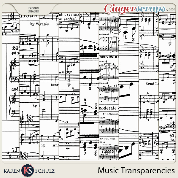 Music Transparencies 01 by Karen Schulz
