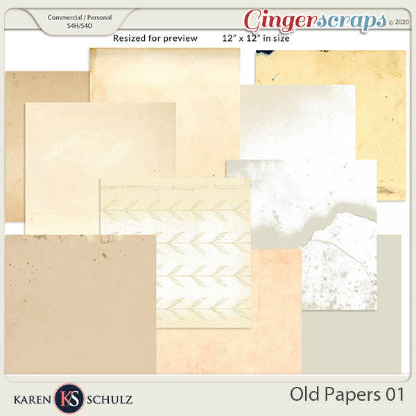 Old Papers 01 by Karen Schulz