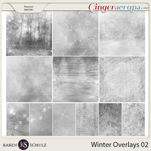 Winter Overlays 02 by Karen Schulz