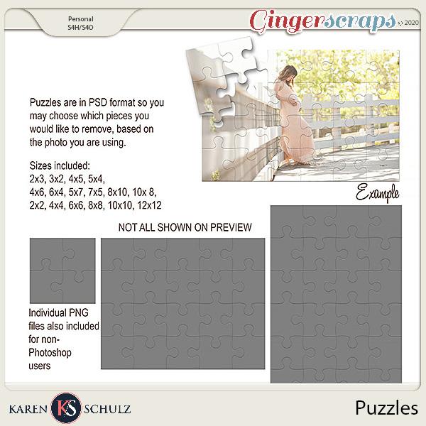 Puzzles by Karen Schulz
