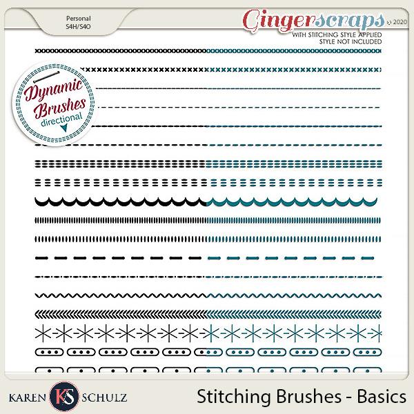Stitching Brushes Basics by Karen Schulz