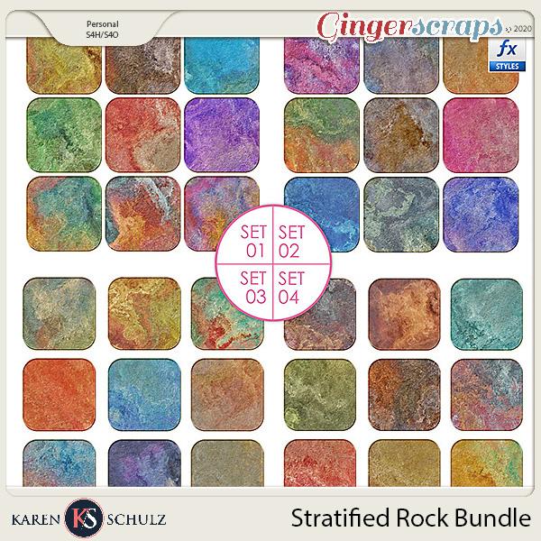 Stratified Rock Styles Bundle by Karen Schulz