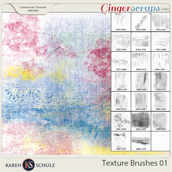 Textures Brushes 01