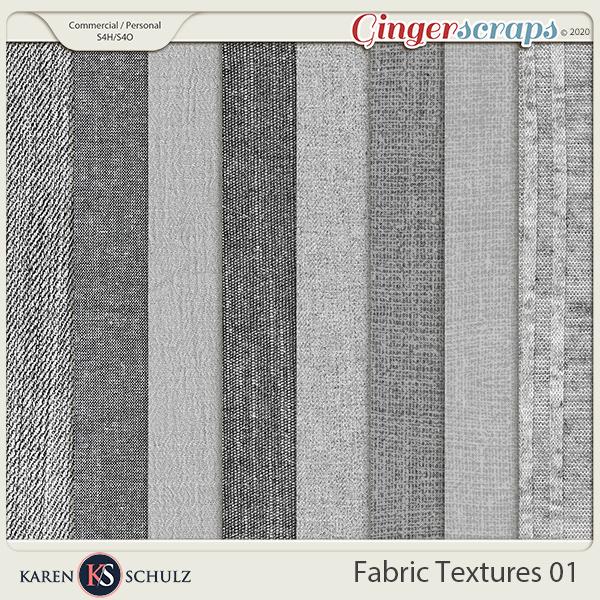 Fabric Textures by Karen Schulx