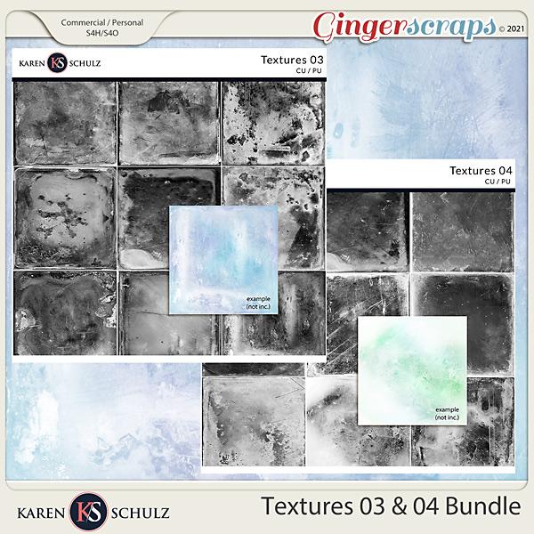 Textures 03 and 04 Bundle by Karen Schulz