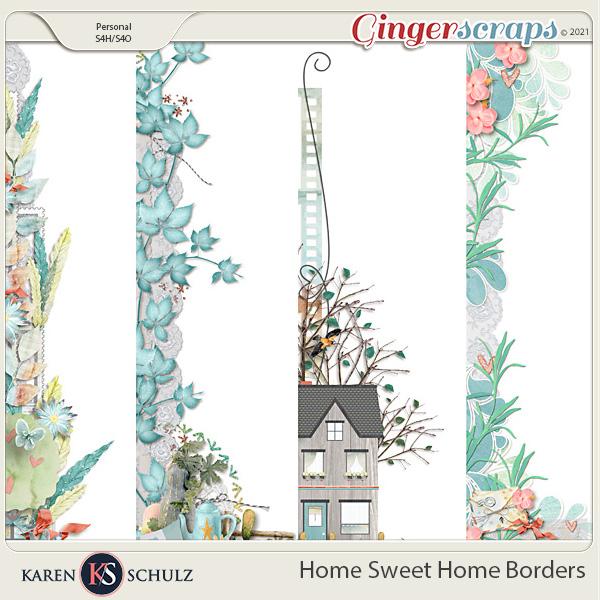 Home Sweet Home Borders by Karen Schulz