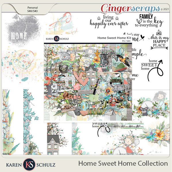 Home Sweet Home Collection by Karen Schulz