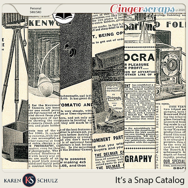 Its a Snap Catalog Papers by Karen Schulz and ADB Designs