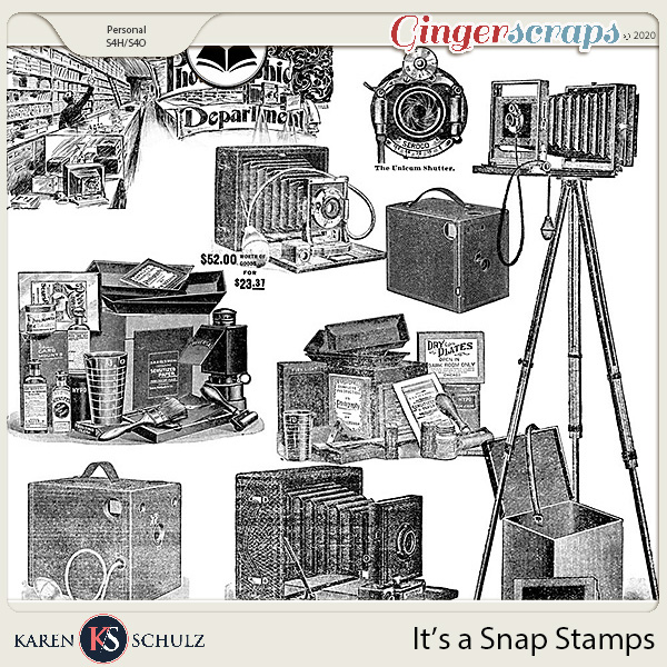 Its a Snap Stamps by Karen Schulzand ADB Designs