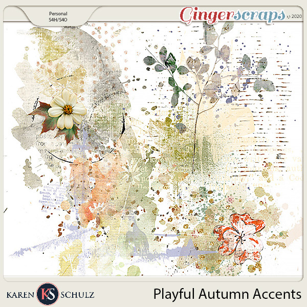 Playful Autumn Accents by Karen Schulz and Linda Cumberland Designs