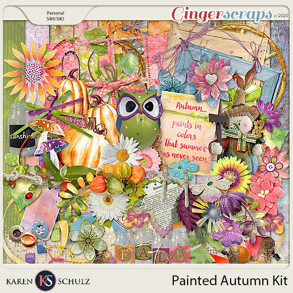 Painted Autumn Kit by Karen Schulz