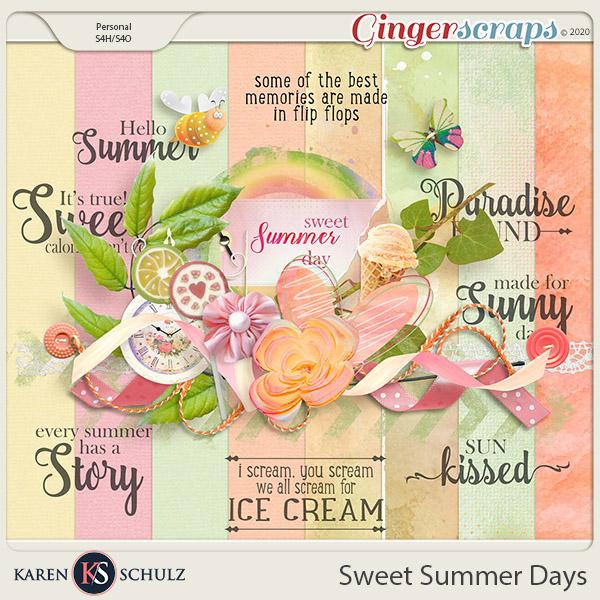 Sweet Summer Days Mini-Kit by Karen Schulz